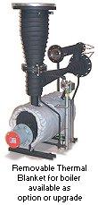 KSM 2000 pump with thermal blanket